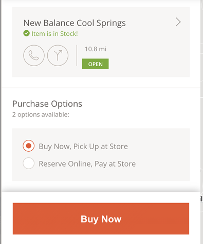 New Balance Omnichannel Experience