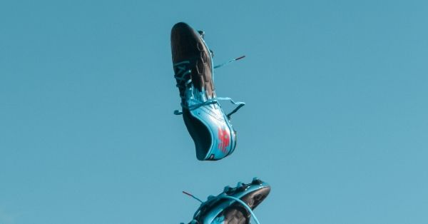 Shoe advertisement