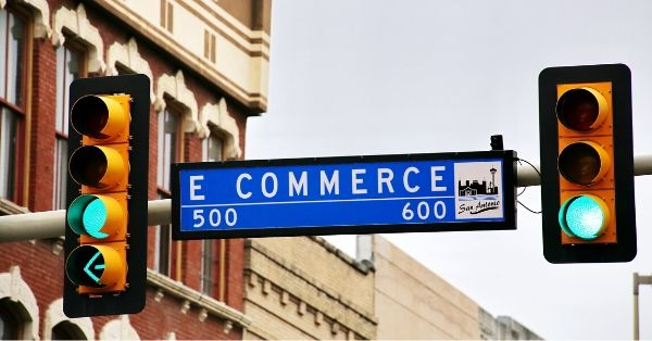 Ecommerce street sign